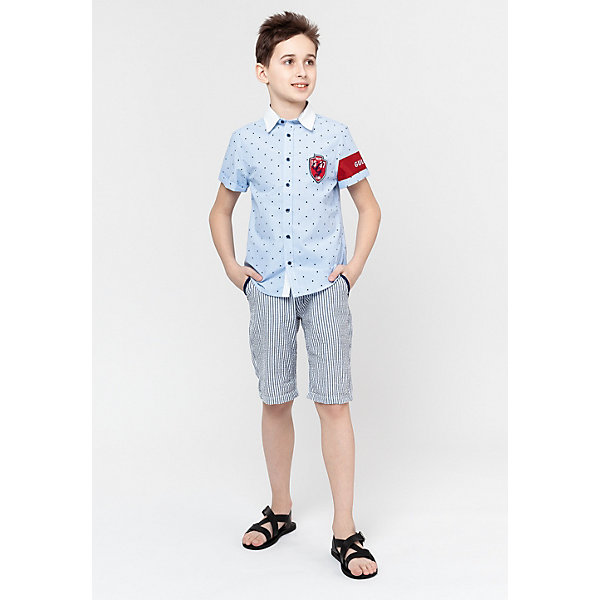Gulliver Рубашка Gulliver рубашка с рисунком raspberry