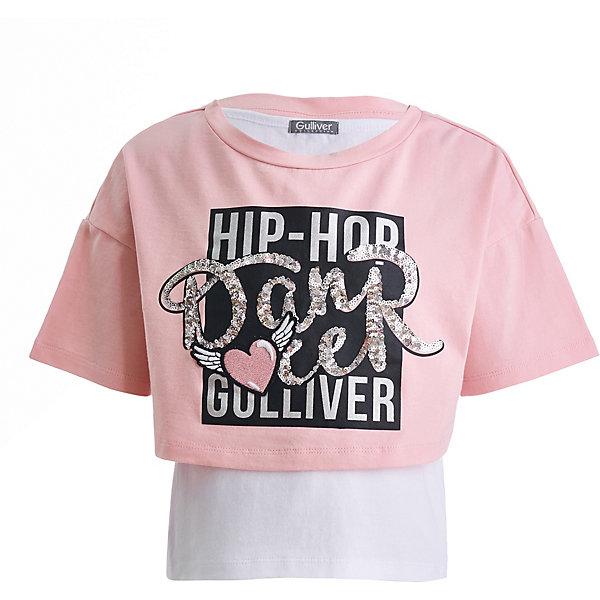 Gulliver Комплект Gulliver: футболка и майка цена и фото