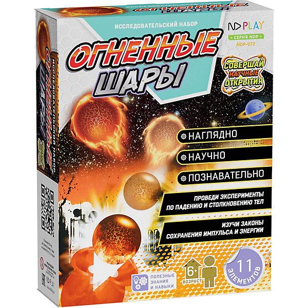 ND Play Исследовательский набор Огненные шары
