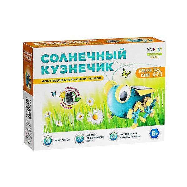 Купить Конструктор ND Play Солнечный кузнечик, 16 деталей, Китай, разноцветный, Унисекс