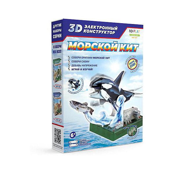 ND Play Электронный 3D-конструктор Морской кит