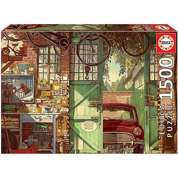 Educa Пазл Educa Старый гараж, Арли Джонс, 1500 деталей