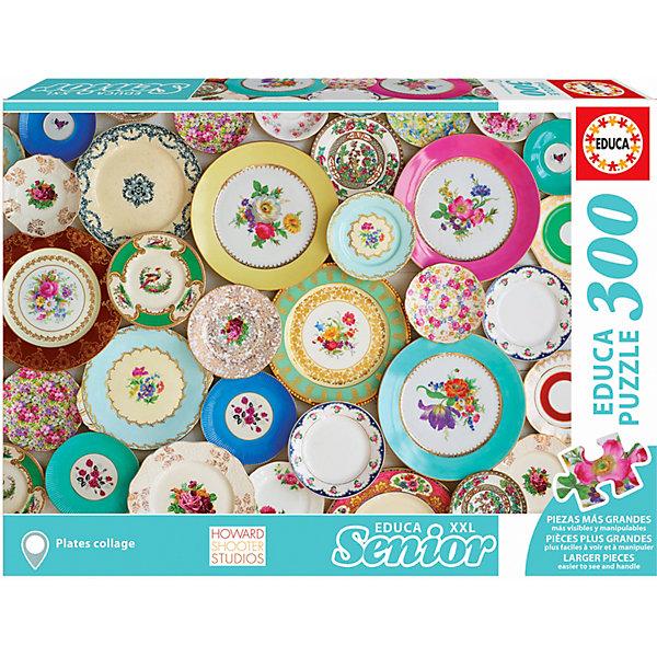 цена на Educa Пазл Educa XXL Коллаж тарелки, 300 деталей