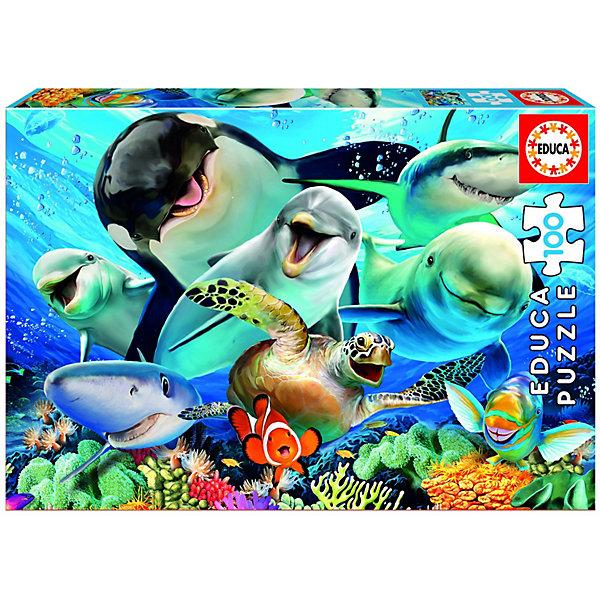 Купить Пазл Educa Селфи под водой , 100 деталей, Испания, Унисекс