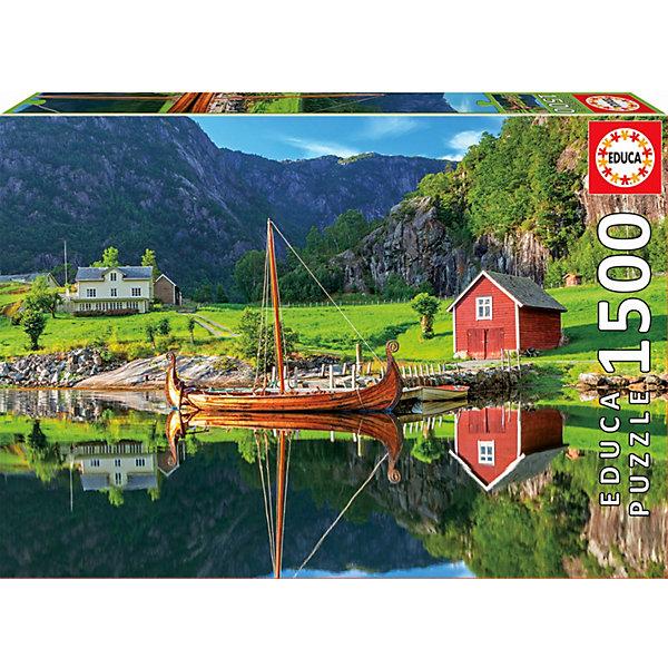 цена на Educa Пазл Educa Корабль викингов, 1500 деталей