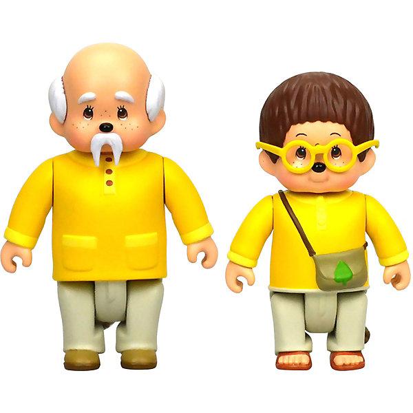 Купить Набор фигурок Monchhichi Лифи и Сильвус, Китай, разноцветный, Женский