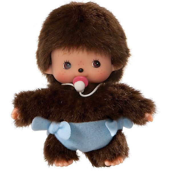 Купить Мягкая игрушка Monchhichi Бэбичичи, мальчик в подгузнике, 15 см, Китай, разноцветный, Унисекс