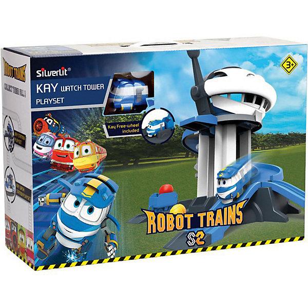 Silverlit Игровой набор Robot Trains Дозорная башня