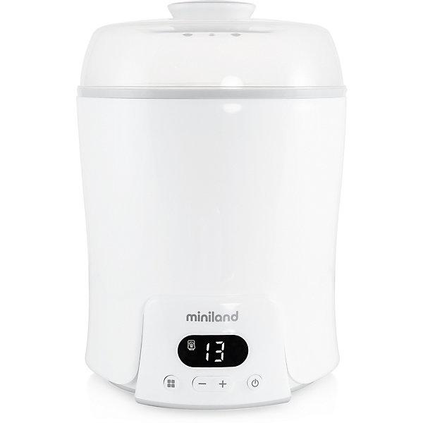 Купить Нагреватель-пароварка-стерилизатор Miniland Super 6, Китай, белый, Унисекс