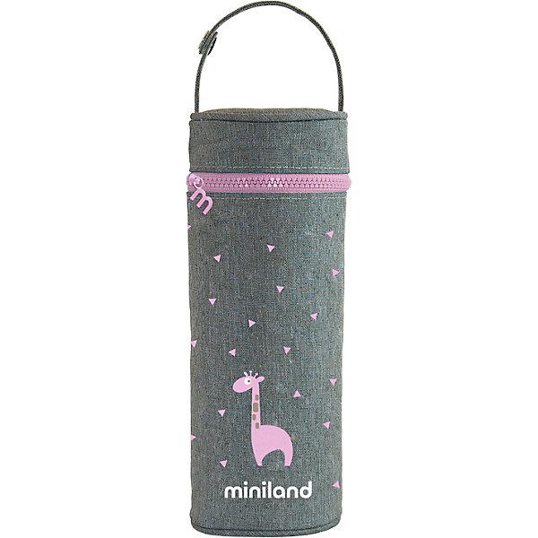 цена на Miniland Термосумка для бутылочек Miniland Silky 350 мл,