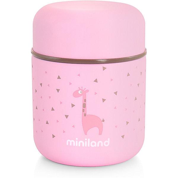 Купить Термос Miniland Silky Thermos Mini 280 мл, розовый, Китай, Женский