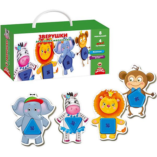 Купить Развивающая игра Vladi Toys Зверушки для самых маленьких , Украина, Унисекс