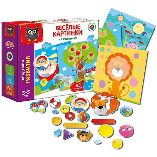 Vladi Toys Настольная игра Веселые картинки на магнитах