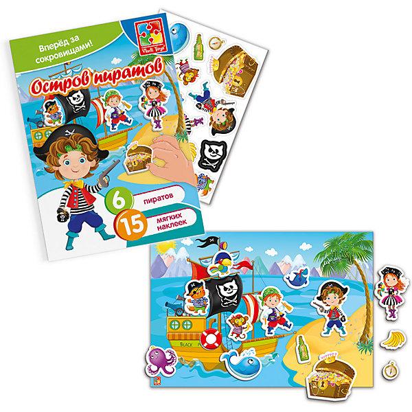 Купить Набор с мягкими наклейками Vladi Toys Пираты , Украина, Унисекс
