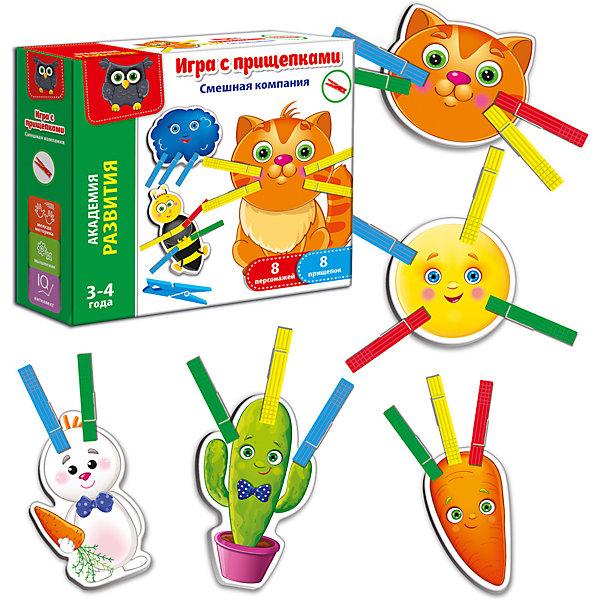 Купить Игра с прищепками Vladi Toys Смешная компания , Украина, Унисекс