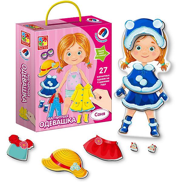 Vladi Toys Магнитная игра-одевашка Vladi Toys Соня магнитная игра одевашка vladi toys ева