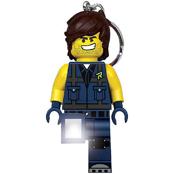 Брелок-фонарик для ключей LEGO Movie 2: Captain Rex, Китай, blau/gelb, Мужской  - купить со скидкой