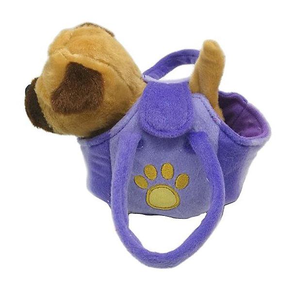 My Friends Интерактивный щенок My friends, 17 см, в сумочке развивающие игрушки tineo спираль my great friends