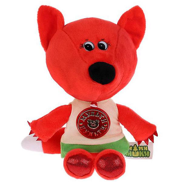 Купить Мягкая игрушка Мульти-пульти Лисичка , 20 см, в футболке, озвученная, Мульти-Пульти, Китай, разноцветный, Унисекс