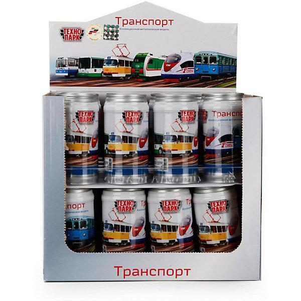 Купить Городской транспорт Технопарк , 7, 5 см, в банке, ТЕХНОПАРК, Китай, разноцветный, Мужской