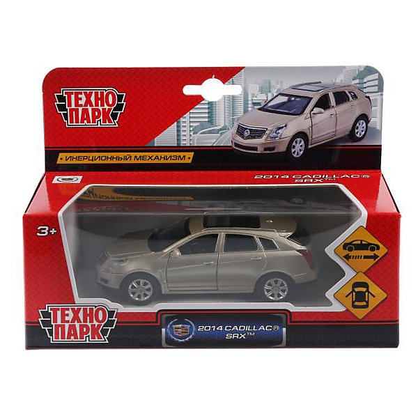 ТЕХНОПАРК Машина Технопарк Cadillac SRX, 1:43, инерционная