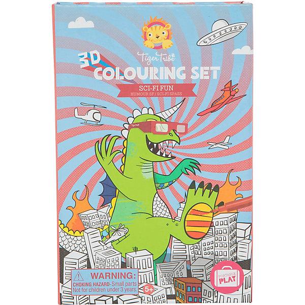 Купить Набор для рисования 3D Tiger Tribe Научная фантастика , Китай, разноцветный, Унисекс