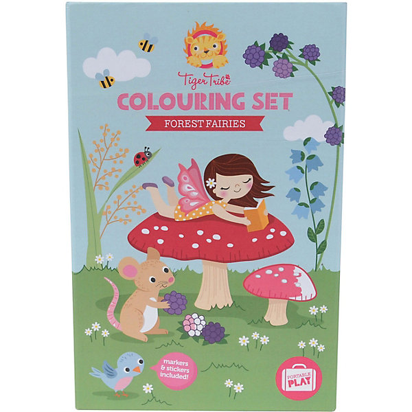 Купить Набор для рисования Tiger Tribe, Лесные феи, Китай, разноцветный, Женский