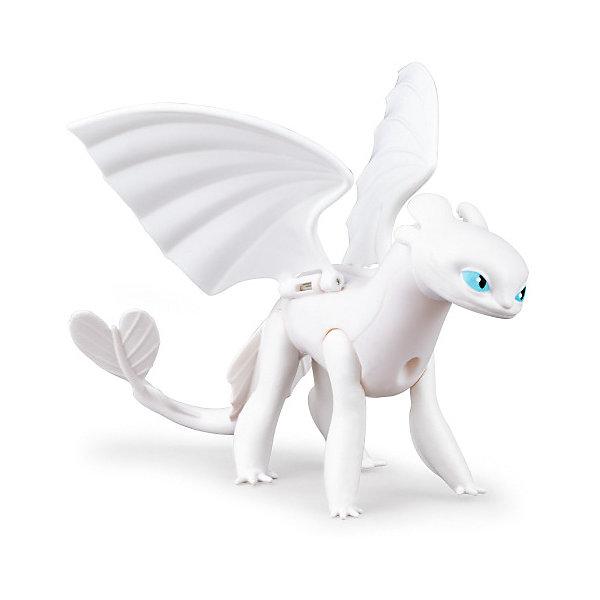 Купить Игрушка Spin Master Dragons «Драконы» Белая фурия, с подвижными крыльями, Китай, разноцветный, Унисекс