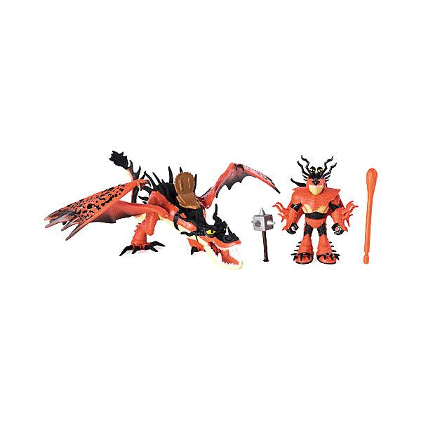 Купить Игрушка Spin Master Dragons «Дракон Кривоклык в пещере», с УФ-подсветкой, Китай, разноцветный, Унисекс