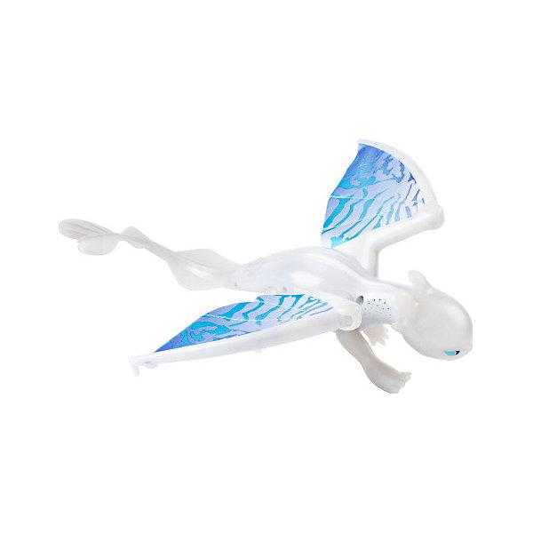Купить Игрушка Spin Master Dragons Большая фигурка дракона Белой фурии, со звуковыми и световыми эффектами, Китай, разноцветный, Унисекс