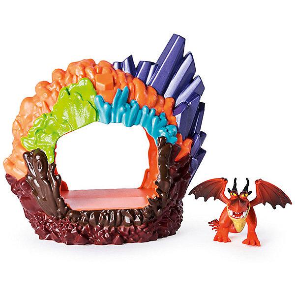 Spin Master Игрушка Dragons «Дракон в пещере»,дракон Кривоклык