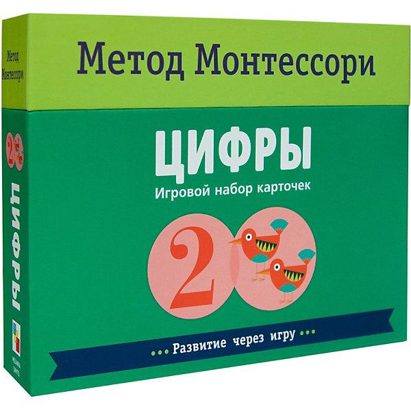 """Мозаика-Синтез Игровой набор карточек Мозаика-синтез Метод Монтесcори """"Развитие через игру. Цифры"""""""