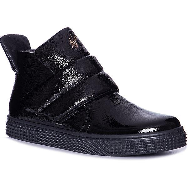 Купить Ботинки Tiflani для девочки, Турция, черный, 37, 38, 39, Женский