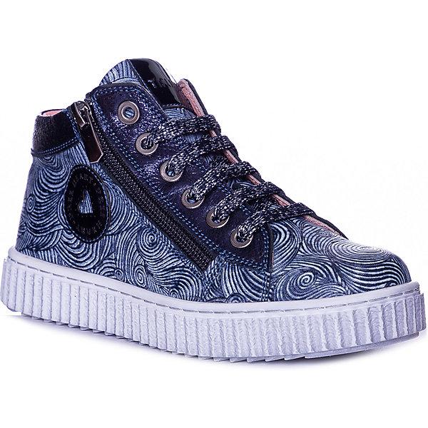 Купить Ботинки Tiflani для девочки, Турция, синий, 31, 34, 36, 35, 33, 32, Женский