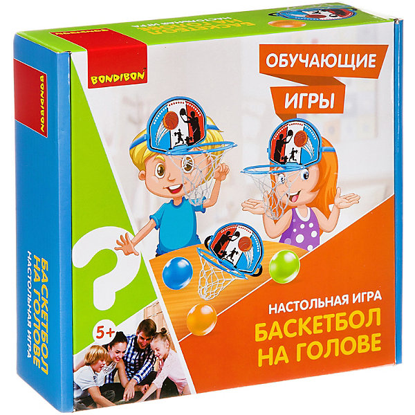 Bondibon Настольная игра Баскетбол на голове
