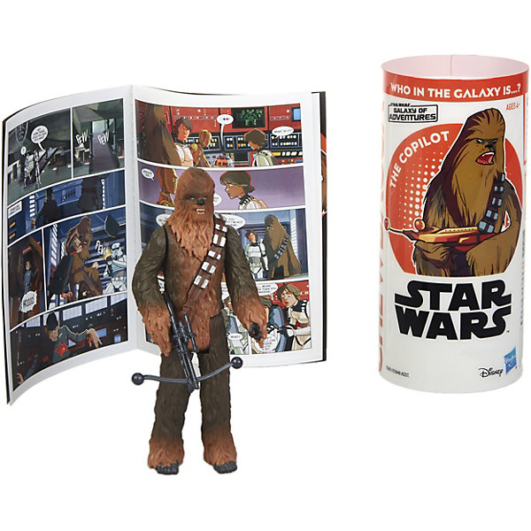 Hasbro Фигурка Star Wars Коллекция историй Чубакка