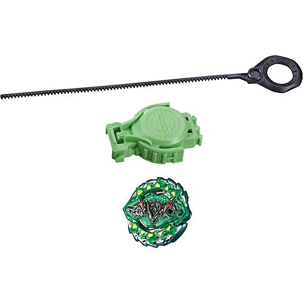 Hasbro Волчок Бейблэйд Слингшок с пусковым устройством Хазард Кербеус К4