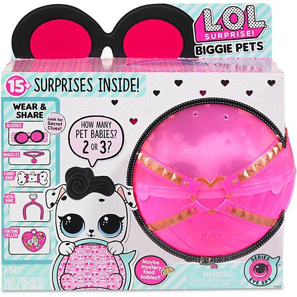 """Игровой набор LOL """"Большой питомец"""", далматинец в розовом шаре, Розовый"""