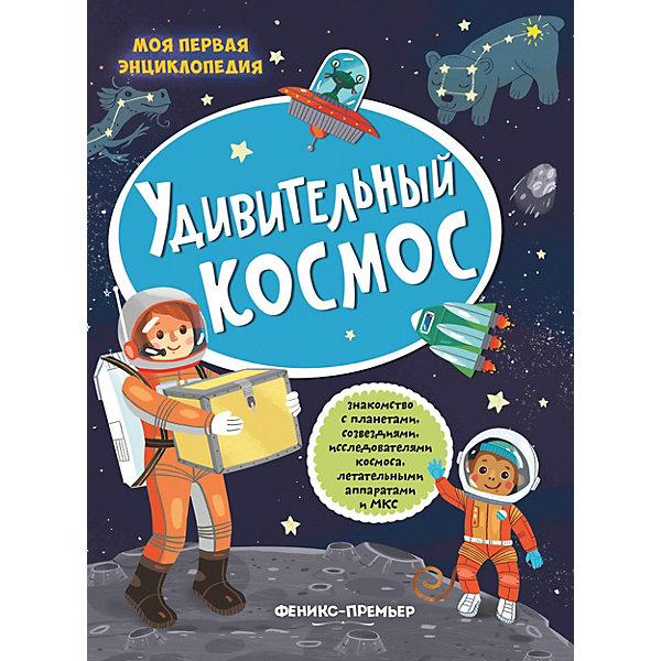 Феникс-Премьер Книжка с наклейками Удивительный космос