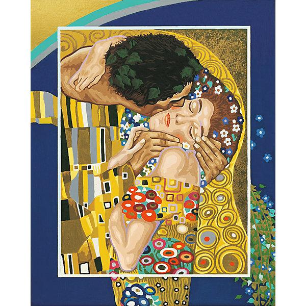 Schipper Картина по номерам Schipper Репродукция Поцелуй» Густав Климт, 40х50 см