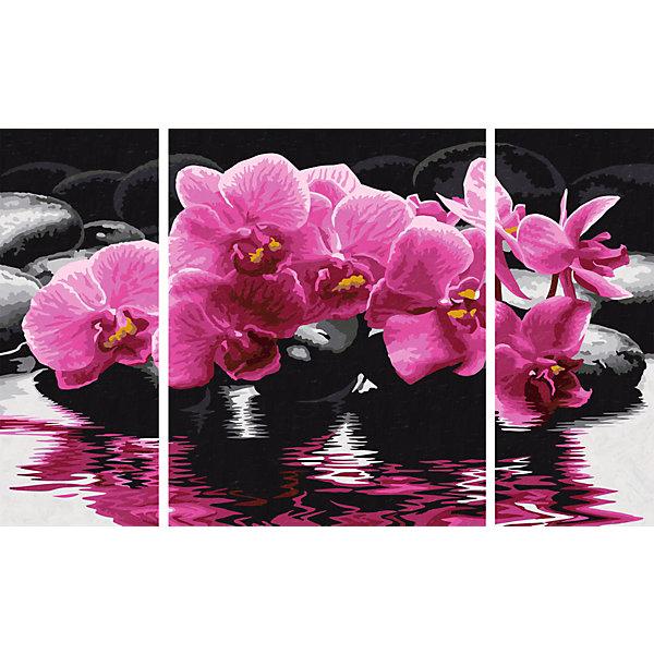 Картина-триптих по номерам Schipper Орхидеи 50х80 смКартины по номерам<br>Характеристики:<br><br>• возраст: от 12 лет<br>• в наборе: 3 фактурные картонные основы с пронумерованными контурами; акриловые краски на водной основе 24 цвета; кисточка из нейлона; наклейки с номерами; контрольный лист; инструкция.<br>• количество картин: 3 шт. (изображение единое)<br>• размер картины: 50х80см. (20х50 см 40х50см 20х50 см.)<br>• форма собранной картины: прямоугольная горизонтальная<br>• упаковка: картонная коробка<br>• температура хранения: выше +5°C.<br>• произведено в Германии<br><br>Набор для раскрашивания по номерам «Орхидеи» от компании Schipper (Шиппер) - это набор для творчества, в который входит все необходимое для создания картины из трех частей с изображением роскошных орхидей.<br><br>Нарисовать удивительную картину будет под силу даже тем, кто не обладает навыками художников. Картины-заготовки выполнены на фактурной картонной основе с пронумерованными контурами. Для создания шедевра потребуется аккуратно, шаг за шагом, заполнять цветными акриловыми красками пронумерованные участки холста. Картина раскрашиваются без смешивания красок.<br><br>В наборе имеется контрольный лист, на котором можно потренироваться в нанесении цвета или сверить номер краски на каком-либо участке картины. Акриловые краски содержатся в очень плотно закрытых контейнерах, поэтому доходят до покупателя, сохранив свои свойства.<br><br>Раскрашивание по номерам позволяет разить творческие способности, моторику пальцев, улучшить цветовосприятие.<br><br>Набор для раскрашивания по номерам Schipper Триптих Орхидеи, 50х80 см, 1/6 можно купить в нашем интернет-магазине.