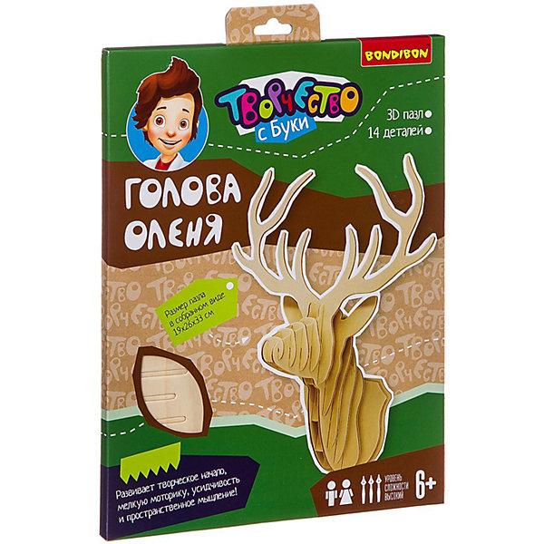 лучшая цена Bondibon 3D-пазл Bondibon Голова оленя