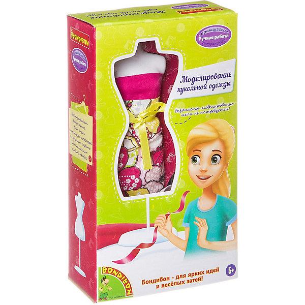 Bondibon Набор для творчества Bondibon Моделирование кукольной одежды