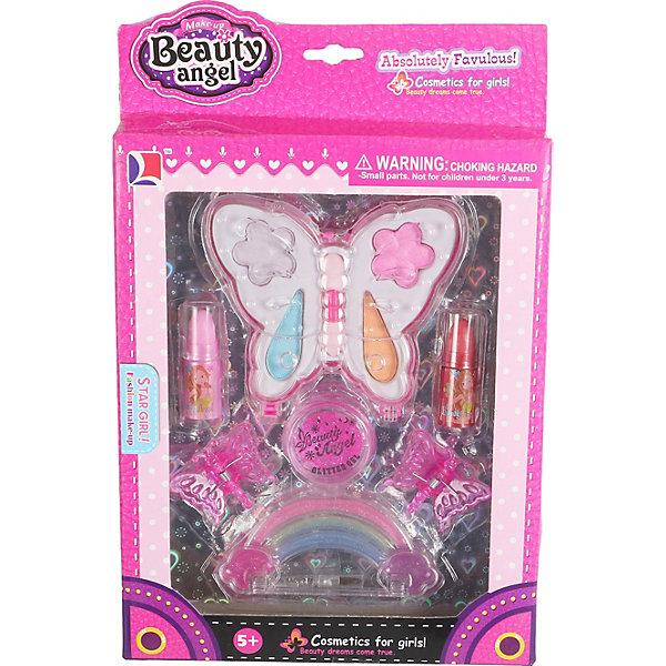 Купить Детская декоративная косметика Beauty Angel Бабочка-1 , 11 предметов, Китай, Женский