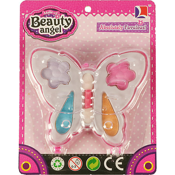 Beauty Angel Детская декоративная косметика Beauty Angel Тени Бабочка-1 angel косметика официальный сайт