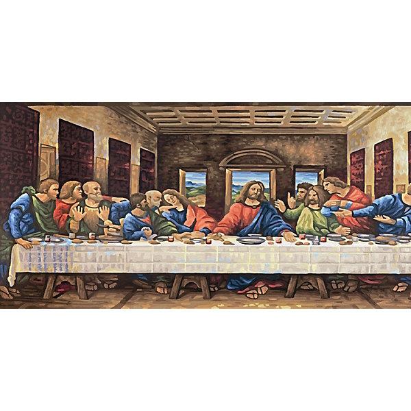 Schipper Картина по номерам Леонардо да Винчи «Тайная вечеря», 40х80 см