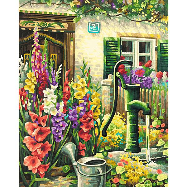 Schipper Картина по номерам Schipper Цветник у дома, 40х50 см картина по номерам 80 x 100 см arth ah323