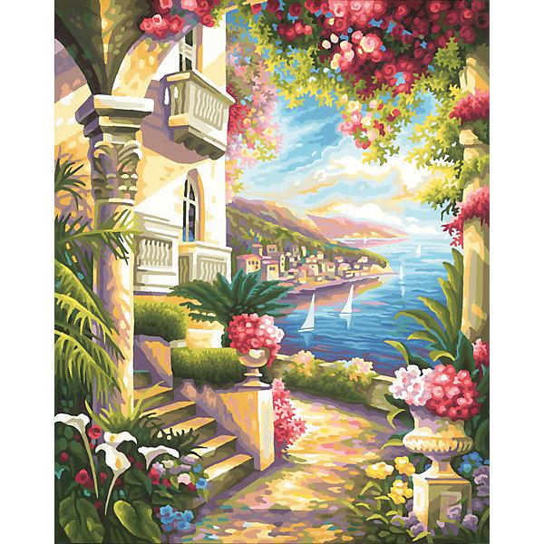Schipper Картина по номерам Schipper Дом у моря, 40х50 см картина по номерам 80 x 100 см arth ah323