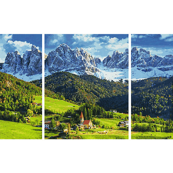 Schipper Картина по номерам Триптих: Святая Магдалена, 50х80 см