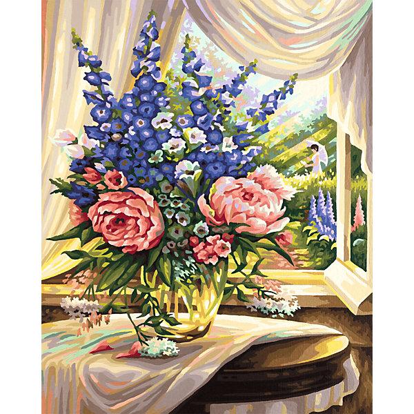 Schipper Картина по номерам Schipper Цветы на столе, 40х50 см картина по номерам 80 x 100 см arth ah323